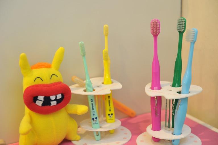 歯磨きしやすい環境を作る